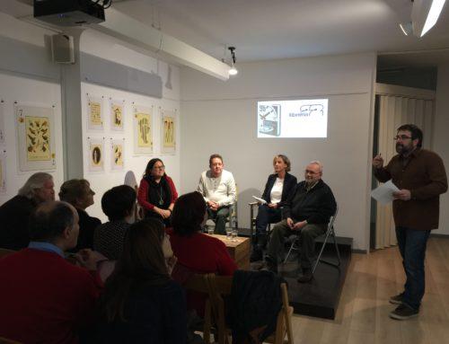 Presentación de «Noventa y seis horas» en Llibreria 22, de Girona