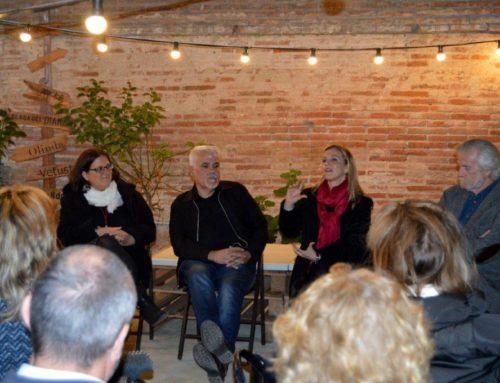 Presentación de «Noventa y seis horas» en la Llibreria Casa Usher, de Barcelona