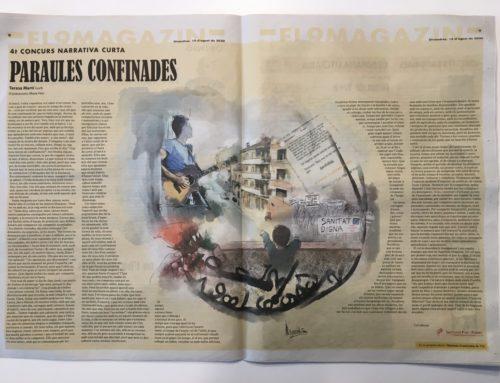 «Paraules confinades», 4t Premi Narrativa Curta El 9 Nou